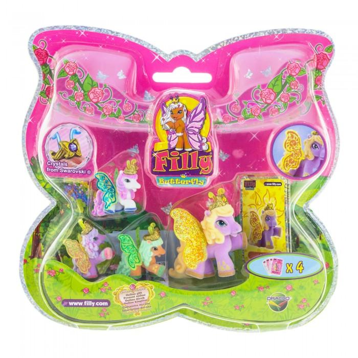 Filly Набор игровой Лошадки-бабочки с блестящими крыльями Bed