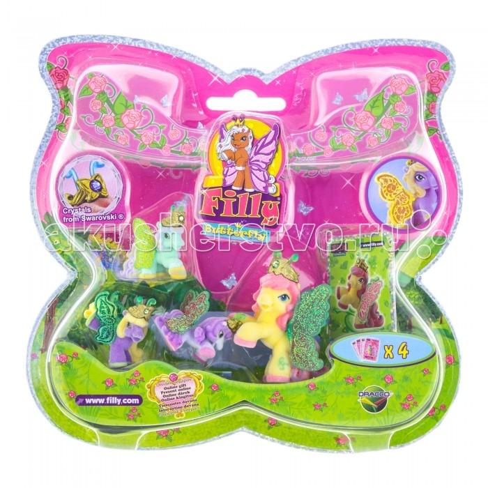Игровые наборы Filly Набор игровой Лошадки-бабочки с блестящими крыльями Lotus игровые наборы esschert design набор игровой kg118