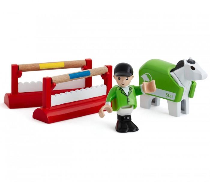 Игровые наборы Brio Игровой набор Horse Training Pack Деревянный игровые наборы brio набор порт с сухогрузом и краном 4 элемента