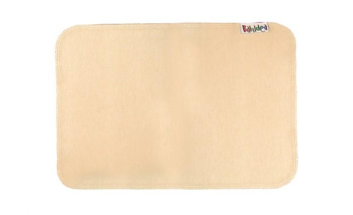 Гигиена и здоровье , Многоразовые подгузники и трусики Babyidea Вкладыш для пеленания Cream Line Care Liner 26х17 2 шт. арт: 217525 -  Многоразовые подгузники и трусики