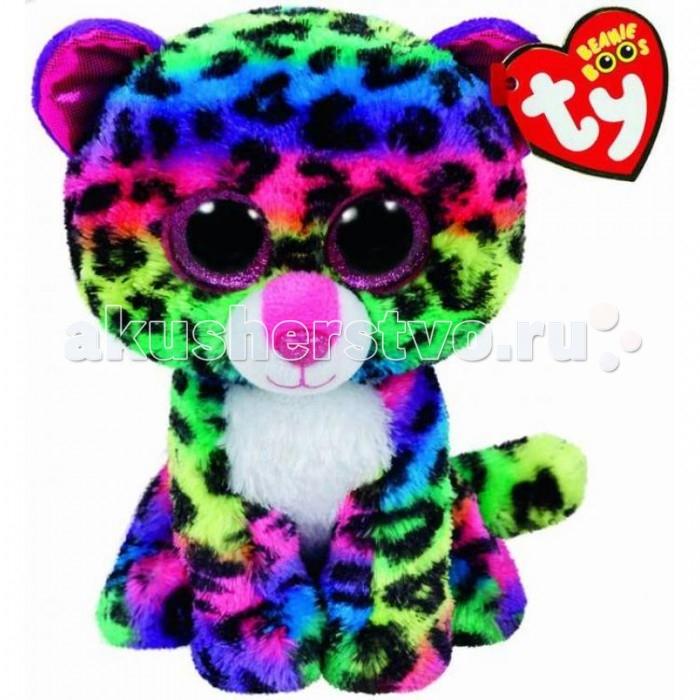 Мягкие игрушки TY Beanie Boos Леопард Dotty 15 см мягкая игрушка ty beanie boo s котенок sophie 15 см