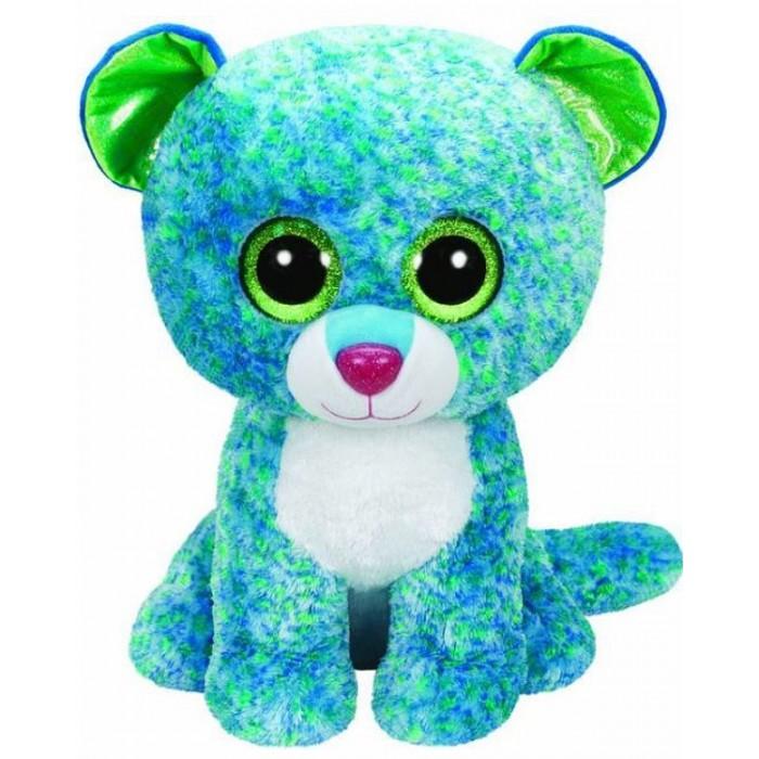 Мягкие игрушки TY Beanie Boos Леопард Leona 41 см мягкие игрушки ty beanie boos обезьянка grapes 25 см
