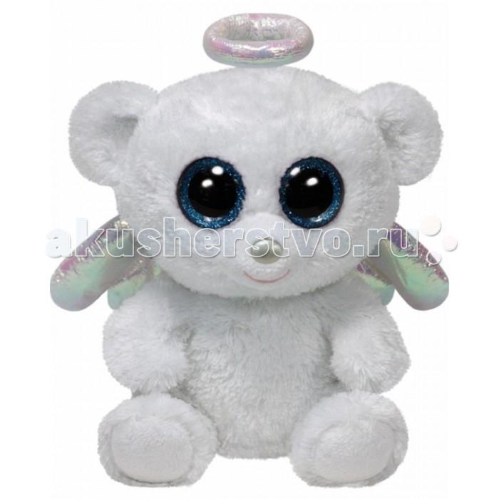 Мягкие игрушки TY Beanie Boos Медвежонок Halo 15 см ty frizzy домовёнок tang 15 см 37138