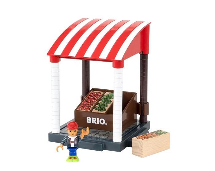 Игровые наборы Brio Игровой набор Магазинчик 11 элементов игровые наборы tomy игровой набор приключения трактора джонни и лошади на ферме