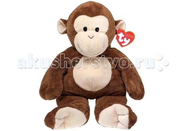 Мягкие игрушки TY Pluffies Обезьянка Dangeles 25 см мягкая игрушка медвежонок 33 см classic ty inc