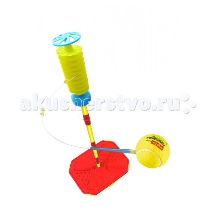 Спортивный инвентарь Mookie Игровой набор Swingball - Веселый теннис игра спортивная mookie tiny tailball set 7113