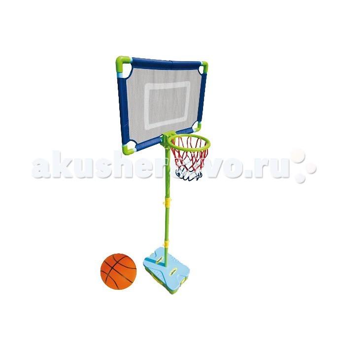 Mookie Набор для игры в баскетбол First Basketball SetНабор для игры в баскетбол First Basketball SetНабор для игры в баскетбол First Basketball Set - отличный выбор для тех, кто любит активный отдых. Удобный чемодан, в который упакован набор, можно взять с собой в поход или на дачу. Собрать складную стойку, установить корзину и щит настолько просто, что с этим справится даже ребенок - несколько минут и можно начинать игру. Высоту стойки можно менять в зависимости от роста малыша.  Комплектация набора:  Кейс-база; Баскетбольный мяч; Насос для мяча; Баскетбольная корзина; Сборно-разборная штанга.  Особенности:   Размер упаковки: 16.5 x 40 x 26 см Вес: 1.6 кг<br>