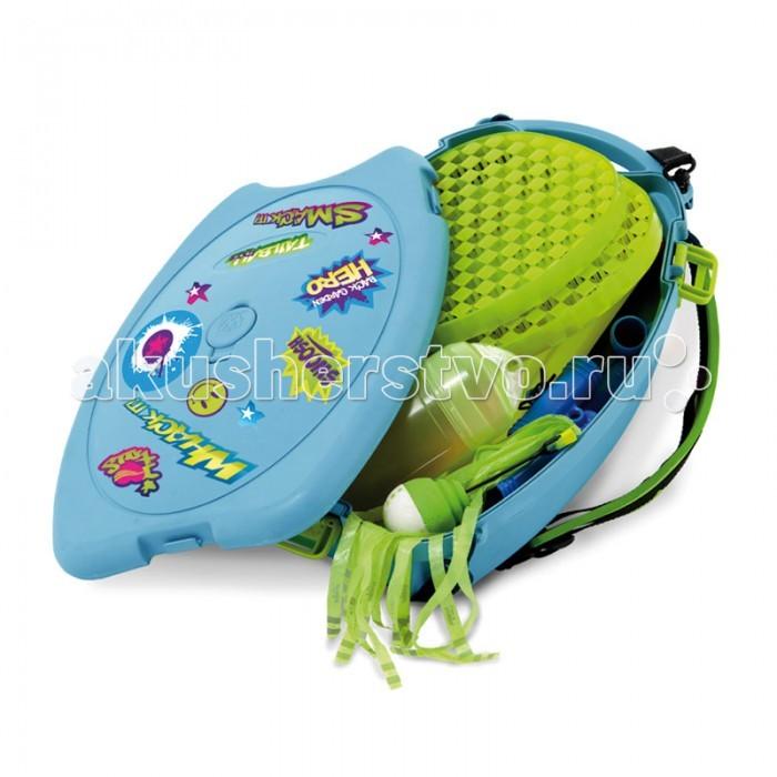 Спортивный инвентарь Mookie Набор для бадминтона в рюкзаке Tailball Backpack Attack набор для бадминтона torneo сетка со стойками 2 ракетки 2 волана чехол