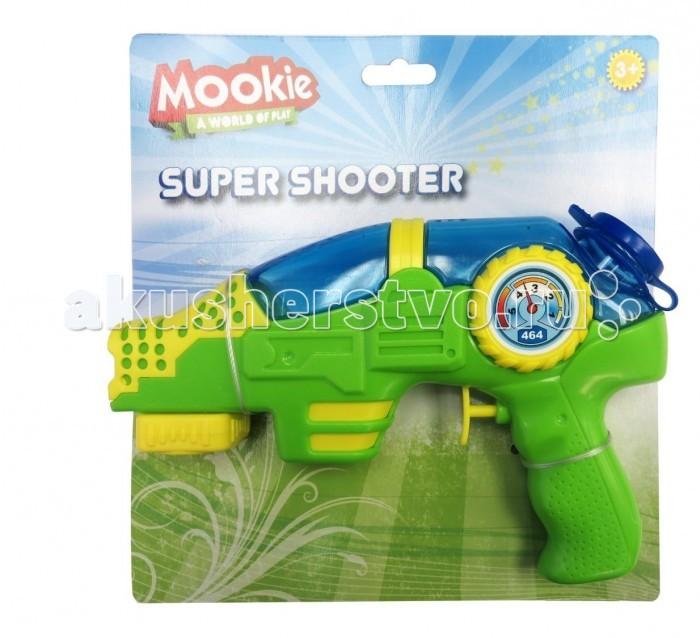 Игрушечное оружие Mookie Водный пистолет Super Shooter игра спортивная mookie tiny tailball set 7113