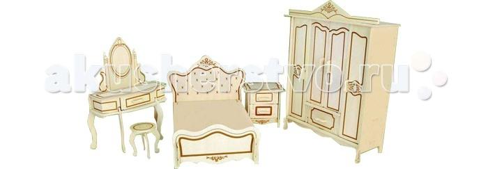 Конструкторы Wooden Toys Сборная модель Мебель для спальни