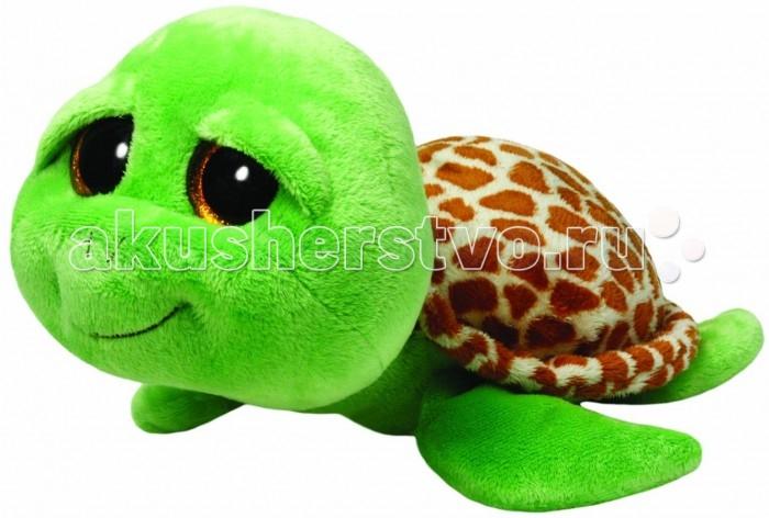 Мягкие игрушки TY Beanie Boos Черепашка Zippy 25 см черепашка нажимай и догоняй