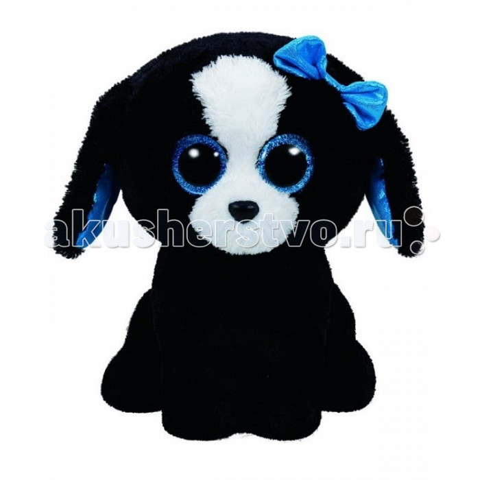 Мягкие игрушки TY Beanie Boos Щенок Tracey 25 см new arrival ty beanie boos big eyes kaola plush toy doll kawaii ty original stuffed animals for children s christmas gifts toys