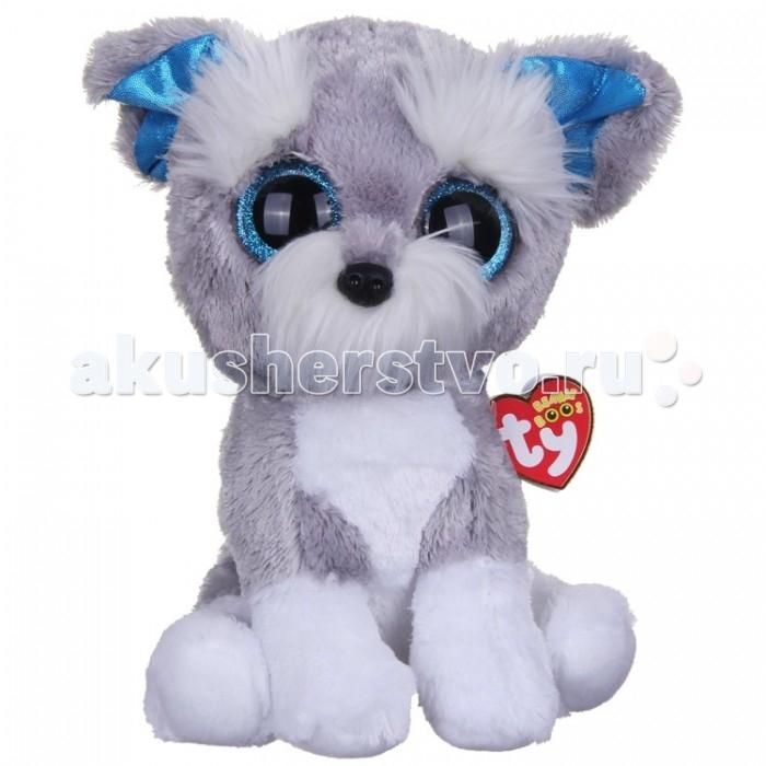 Мягкая игрушка TY Beanie Boo's Щенок Whiskers 25 см