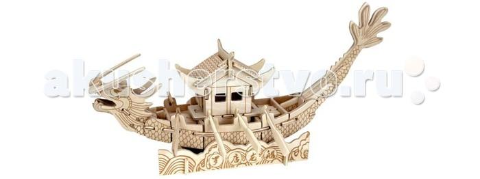 Конструкторы Wooden Toys Сборная модель Лодка принцессы