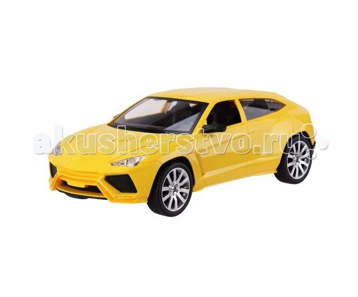 Пламенный мотор Машина на р/у Превосходство скорости на аккумуляторе 1:12 (свет)Машина на р/у Превосходство скорости на аккумуляторе 1:12 (свет)Радиоуправляемая машина от торговой марки Пламенный мотор выполнена в размере 1:12, изготовлена из металла и дополнена элементами декора из пластика. Эта модель окрашена в ярко-желтый цвет, ее подвижные колеса покрыты резиной. Когда автомобиль находится в движении, его фары загораются как у настоящей машины. В комплекте к автомобилю также есть пульт радиоуправления и батарейки. Машина может двигаться вперед, назад и выполнять различные повороты, достигая при этом высокой скорости. С такой скоростной машинкой юный автогонщик сможет придумать множество веселых игровых сюжетов.  В комплекте:    Машина; Пульт управления; Аккумуляторные батареи.  Особенности:   Размер упаковки: 46 х 19 х 18 см Масштаб: 1:12<br>