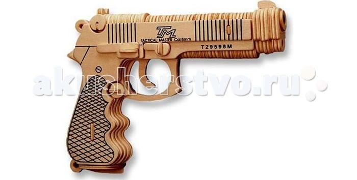 Конструкторы Wooden Toys Сборная модель Пистолет Беретта