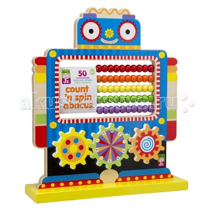 Развивающие игрушки Alex Робот со счетами