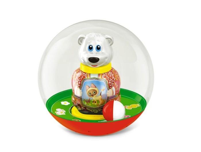 Развивающие игрушки Стеллар Неваляшка шар Медведь Митя стеллар неваляшка бурый медведь потапыч в ассортименте стеллар