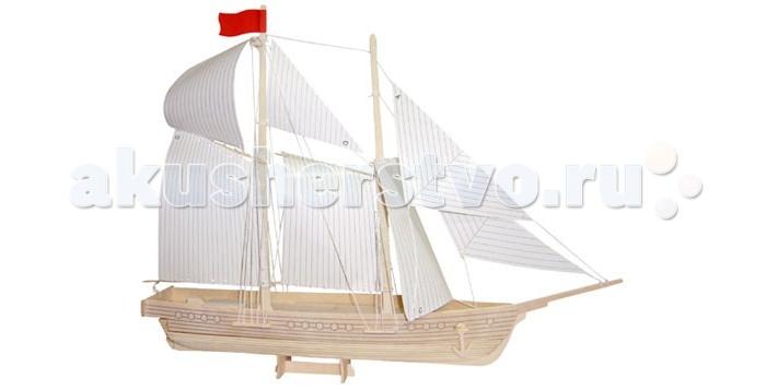 Конструкторы Wooden Toys Сборная модель Шхуна батут sport elite 8ft 2 44 м