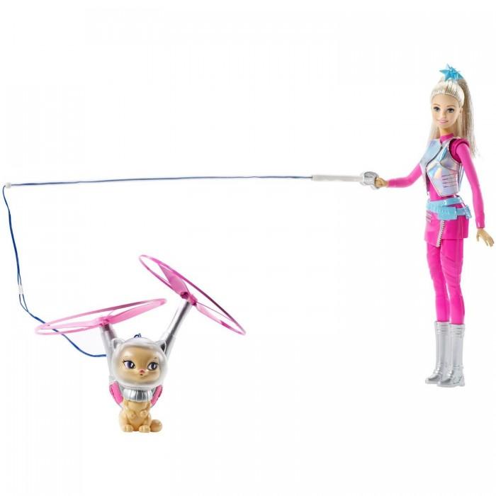 Куклы и одежда для кукол Barbie Кукла Барби с летающим котом Попкорном mattel barbie барби с летающим котом попкорном