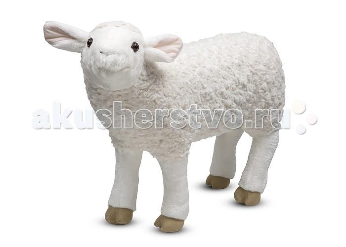 Купить Мягкие игрушки, Мягкая игрушка Melissa & Doug Овечка 60 см