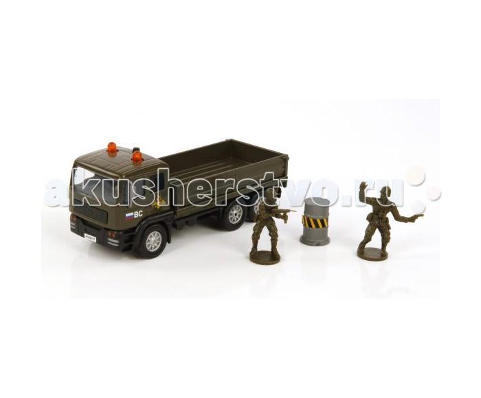 Игровые наборы Пламенный мотор Игровой набор Вооруженные силы (свет, звук) 1:32