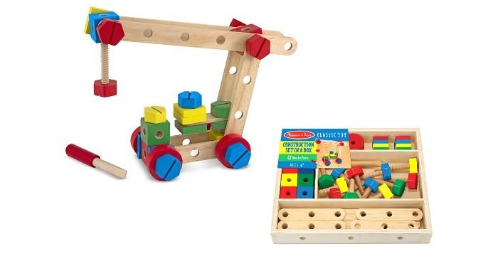 Конструкторы Melissa & Doug Классические игрушки 48 элементов конструкторы melissa