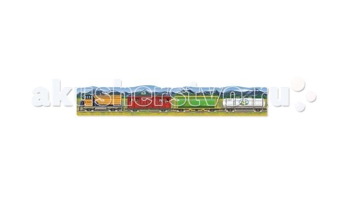 Пазлы Melissa & Doug Пазл Поезд 96 элементов билет на поезд ухта адлер