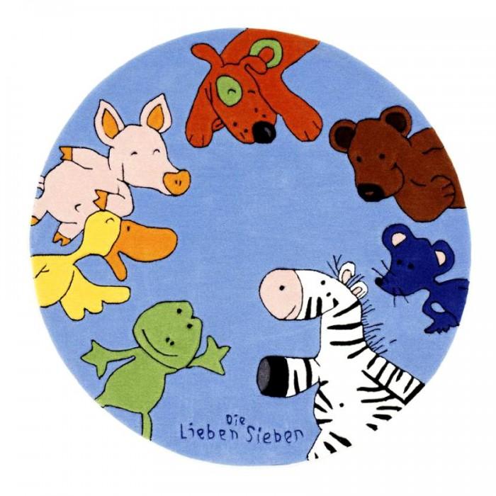 Купить Детские ковры, Boing Carpet Ковёр Die Lieben Sieben 130 см 2195-03R