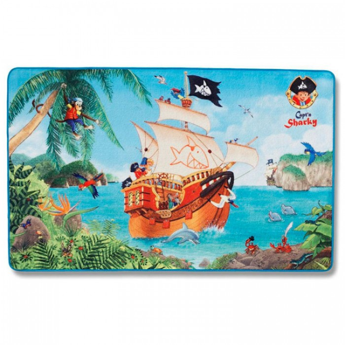 Boing Carpet Ковёр Capt`n Sharky 301-0116 Spiegelburg