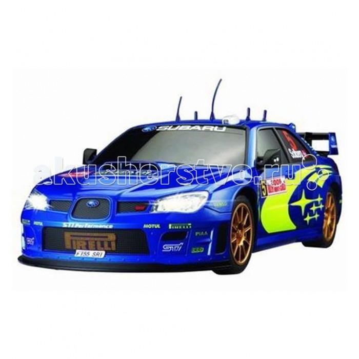 Auldey Машина на батарейках радиуоправляемая с зарядным устройством SUBARU IMPREZA LC227650Машина на батарейках радиуоправляемая с зарядным устройством SUBARU IMPREZA LC227650Subaru Impreza Auldey — это очень быстрая и максимально реалистичная копия знаменитого автомобиля, выполненная в масштабе 1:10. Машинка поставляется с пультом пистолетного типа, прекрасно подходит для гонок на улице и дома.  Subaru Impreza от Auldey — это отличный выбор для любого начинающего автомобилиста. Машинка выполнена в масштабе 1:10, то есть длина модели — 50 см! Эта большая игрушка может моментально разгонятся до максимальной скорости 10 км/ч. Корпус выполнен из очень лёгкого и прочного материала, который не утяжеляет модель, то есть практически не влияет на скоростные качества. Корпус легко выдержит даже достаточно серьёзное лобовое столкновение. Особого внимания заслуживает кузов, который в точности повторяет оригинальный автомобиль. Машинка отличается прекрасной манёвренностью, она прекрасно вписывается любые повороты. Модель — полноприводная.  Важной особенностью Auldey 1:10 SUBARU IMPREZA LC227650 является комплект поставки. Машинка работает от аккумулятора, который уже находится в комплекте вместе с зарядным устройством. Приятным дополнением станет пульт управления пистолетного типа (именно такая форма используется в хоббийном моделизме), пульт максимально прост в управлении и очень удобен. Он обеспечивает дальность сигнала до 20 метров, то есть машинка идеально подходит для заездов в помещении и на готовых уличных трассах.  Работает пульт от 2 батареек типа АА (нет в комплекте).<br>
