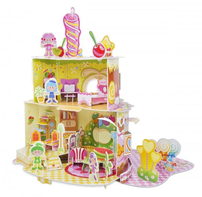 Пазлы Melissa & Doug Пазл 3D Дом, милый дом пазлы crystal puzzle 3d головоломка вулкан 40 деталей