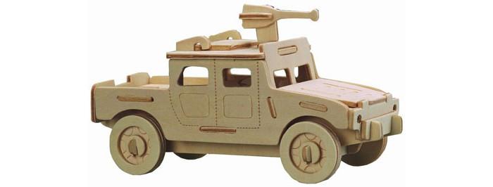 Конструкторы Wooden Toys Сборная модель Военный внедорожник (малый) набор для творчества чудо дерево сборная деревянная модель внедорожник p123