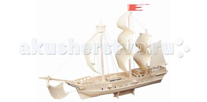 Конструкторы Wooden Toys Сборная модель Парусный фрегат