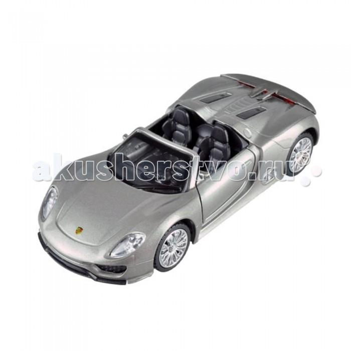 Машины Пламенный мотор Металлическая машинка По дорогам мира Porsche 918 Spyder 1:41