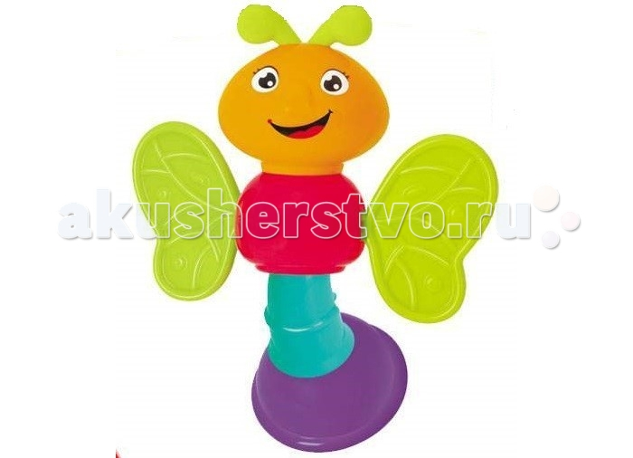 Погремушки Huile Toys Бабочка детская пирамидка huile toys 619