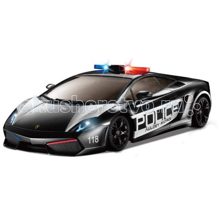 Auldey Машина на батарейках радиуоправляемая Lamborghini LP560-4 Gallardo Police