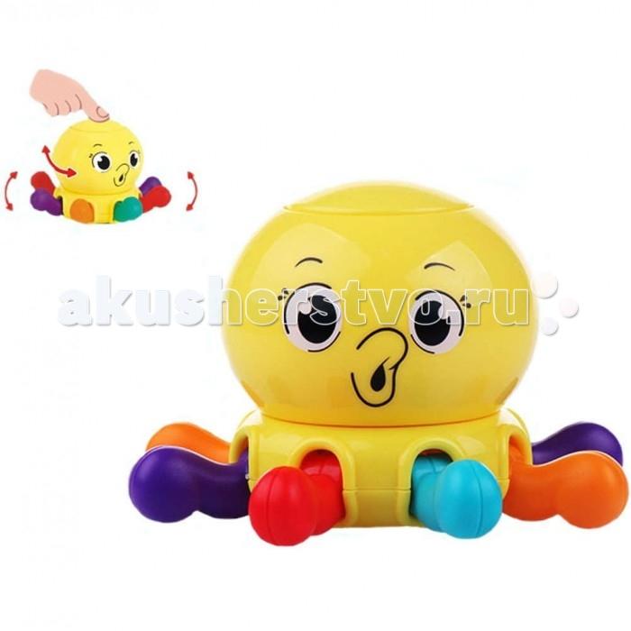 Погремушки Huile Toys Осьминог осьминог снек дешево москва