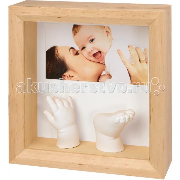 Baby Art Набор Рамочка с объемными слепками и фото