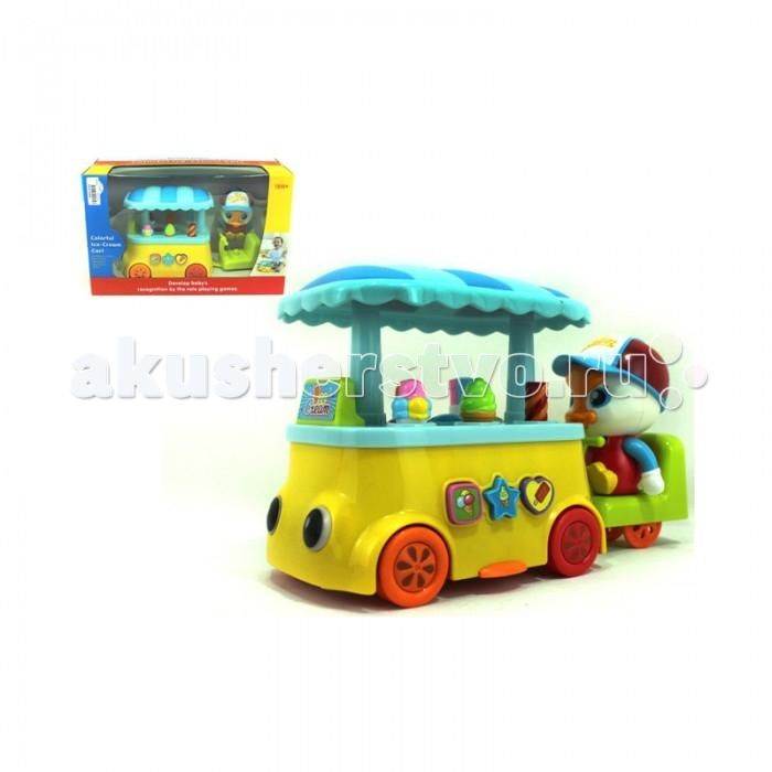Huile Toys Машинка Лоток мороженщика бп atx 600 вт exegate atx xp600