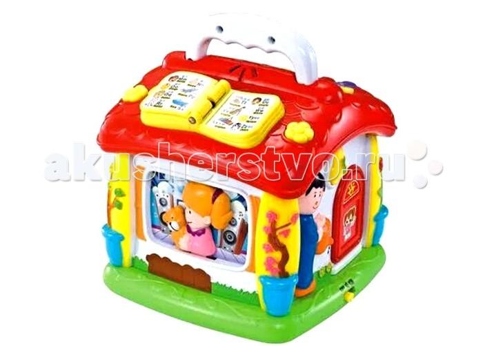 Huile Toys Игровой центр для малышей Домик