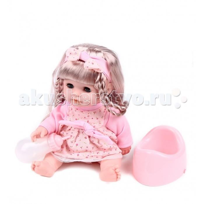 Куклы и одежда для кукол Tongde Пупс с аксессуарами 34 см  пупс tongde в72260 танцующий малыш