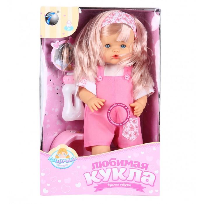 Tongde Кукла-пупс с аксессуарами 39 смКукла-пупс с аксессуарами 39 смTongde Кукла-пупс с аксессуарами 39 см  Чудесный пупс в красивых футболке и штанишках обязательно понравится Вашей дочурке. В набор входят горшок и бутылочка, который помогут разнообразить игру дочки-матери и сделать ее максимально реалистичной.  Игрушка отлично подходит для сюжетно-ролевых игр, которые способствуют развитию воображения и абстрактного мышления. Игрушка изготовлена из высококачественных и экологически чистых материалов, абсолютно безопасных для ребенка.  В наборе: горшок бутылочка  Возраст: от 3 лет Высота куклы: 39 см Работает от 3-х батареек<br>