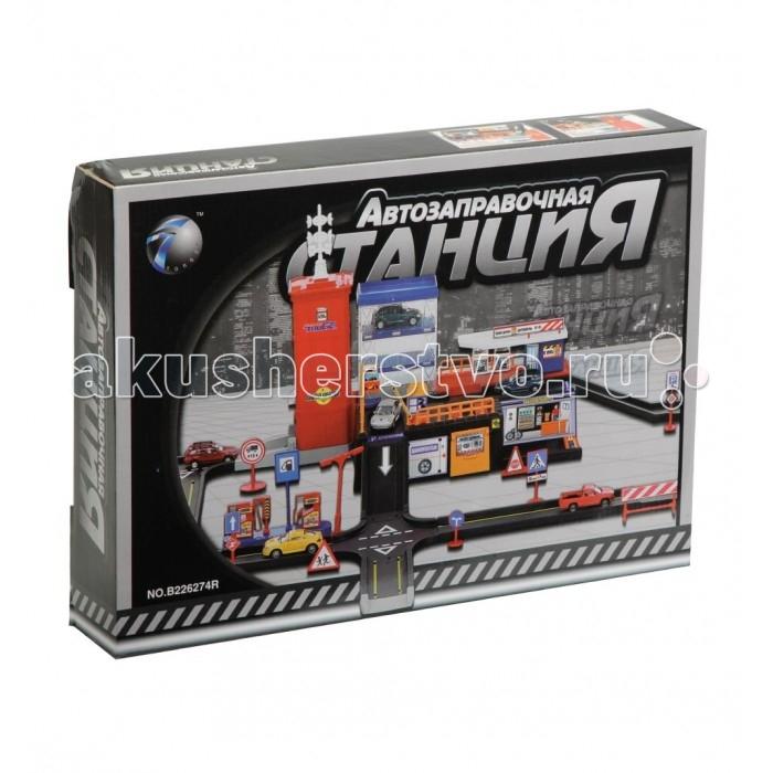 Игровые наборы Tongde Игровой набор Автозаправочная станция игровые наборы магнитарий магнитный набор 3 маленькие модники агния