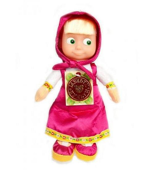 купить Интерактивные игрушки Мульти-пульти Мягкая игрушка Маша (3 сказки) недорого