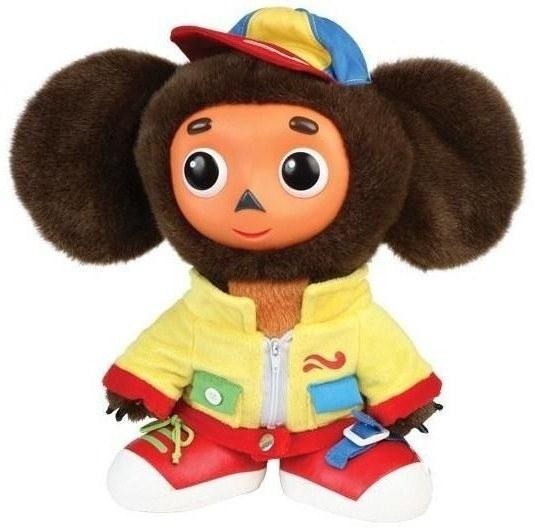 Интерактивная игрушка Мульти-пульти Мягкая игрушка Чебурашка учит одеваться