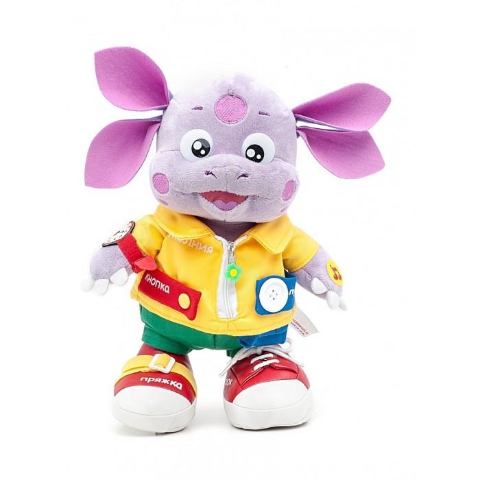 Интерактивные игрушки Мульти-пульти Мягкая игрушка Лунтик учит одеваться лунтик развивающий набор лунтик фантазер