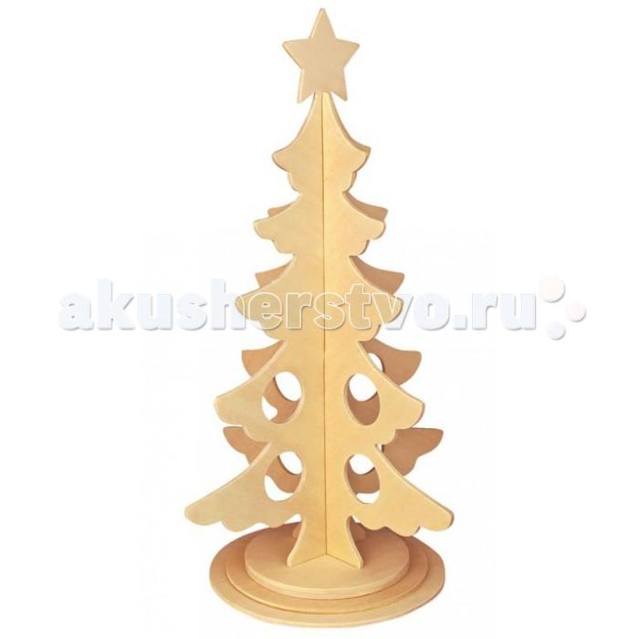 Конструкторы Wooden Toys Сборная модель Новогодняя елка сборная модель лабиринт новогодняя елка