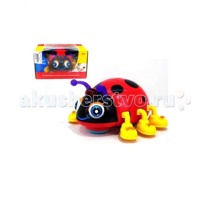 Электронные игрушки Huile Toys Игрушка Божья коровка со звуковыми и световыми эффектами