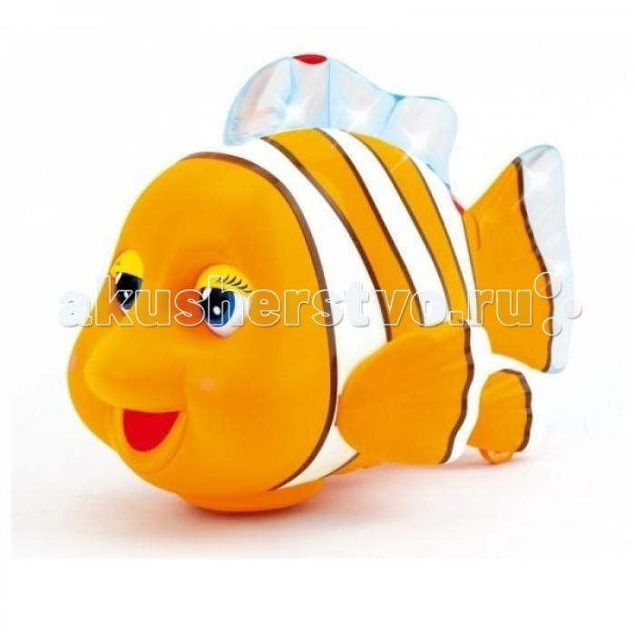 Интерактивная игрушка Huile Toys Рыбка со звуковыми и световыми эффектами